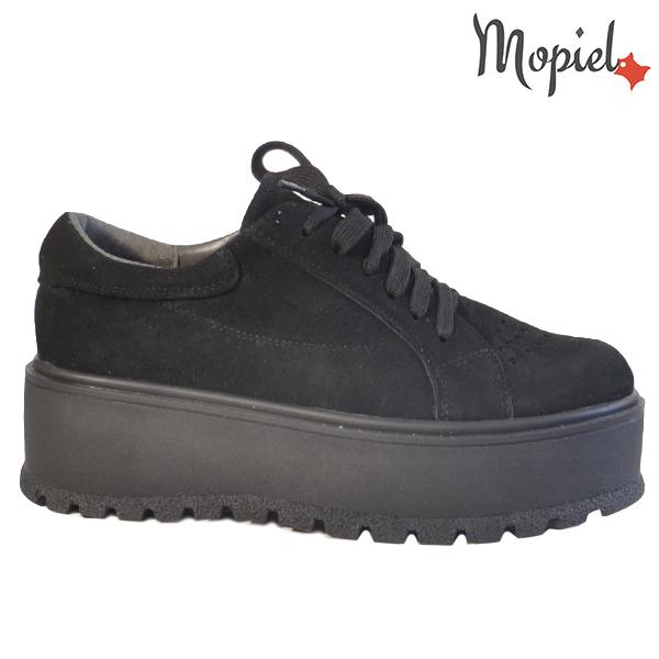 Pantofi dama, din piele naturala 202113 R23 SP-Negru Ginger  - Pantofi dama din piele naturala 202113 R23 SP Negru Ginger - COLECTIE NOUA PANTOFI DAMA