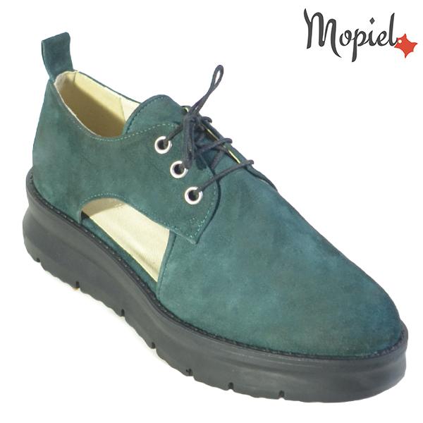 Pantofi dama, din piele naturala 202114 R23 Verde Imala incaltaminte dama