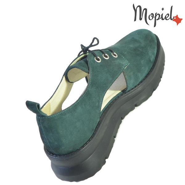 Pantofi dama, din piele naturala 202114 R23 Verde Imala incaltaminte online