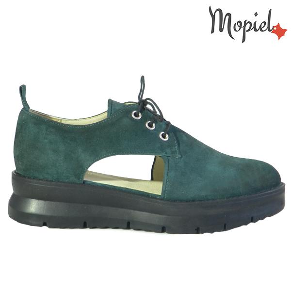 Pantofi dama, din piele naturala 202114 R23 Verde Imala  - Pantofi dama din piele naturala 202114 R23 Verde Imala - COLECTIE NOUA PANTOFI DAMA