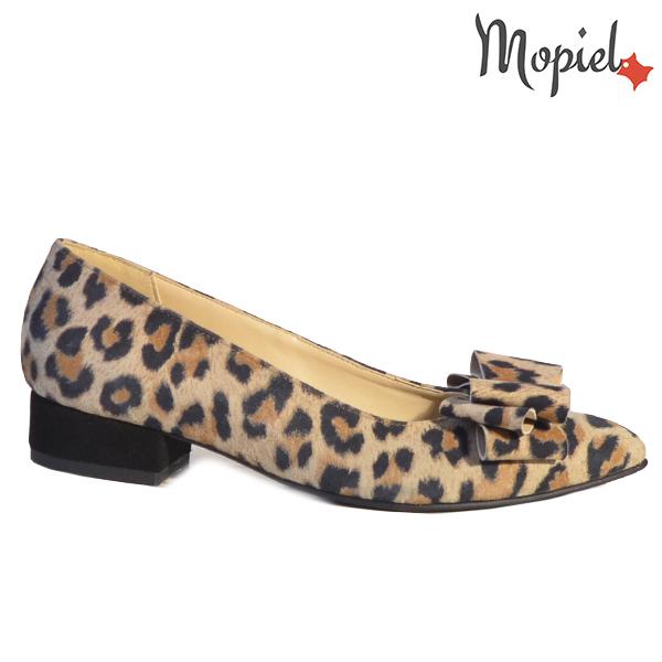 Pantofi dama, din piele naturala 202117 R23 Leopard Lolita