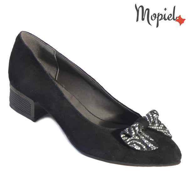 Pantofi dama din piele naturala 202119 R23 SP-Negru Dalia incaltaminte dama