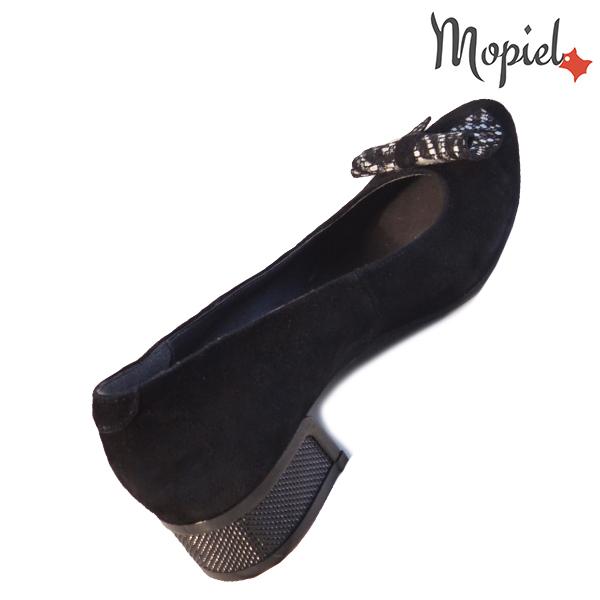Pantofi dama din piele naturala 202119 R23 SP-Negru Dalia incaltaminte piele
