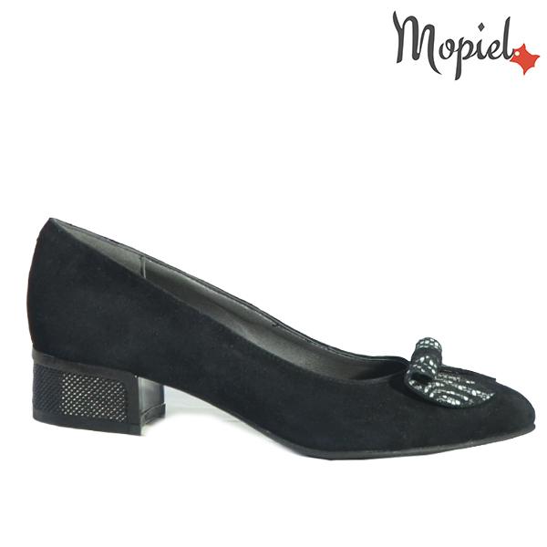 Pantofi dama din piele naturala 202119 R23 SP-Negru Dalia
