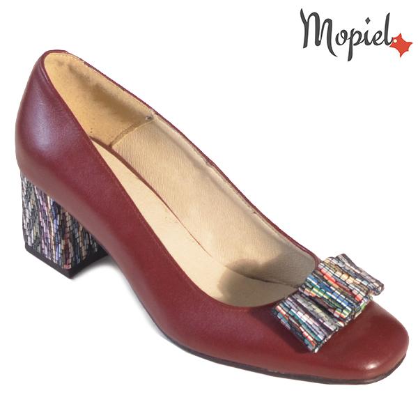 Pantofi dama din piele naturala 20212 R23 Maro Celia incaltaminte dama
