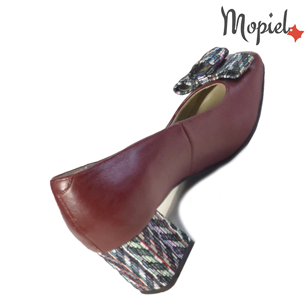 Pantofi dama din piele naturala 20212 R23 Maro Celia incaltaminte online