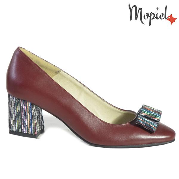 Pantofi dama din piele naturala 20212 R23 Maro Celia  - Pantofi dama din piele naturala 20212 R23 Maro Celia - Inspiratia ta pentru un eveniment reusit!