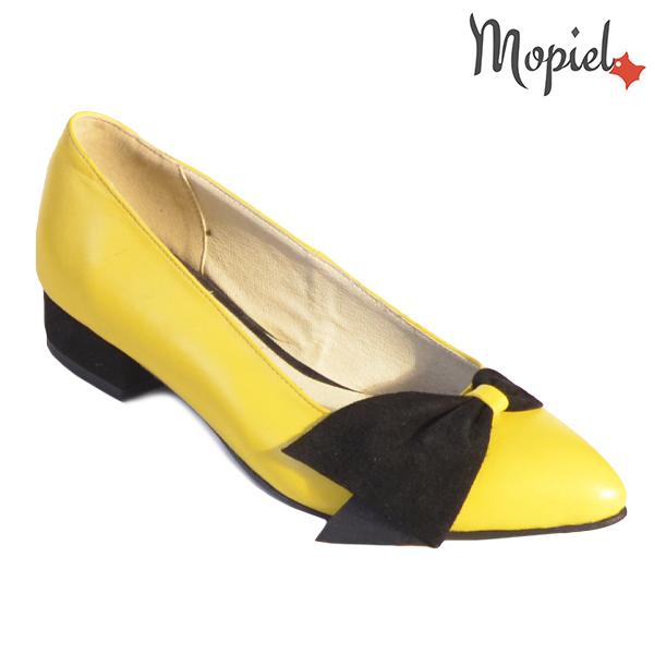 Pantofi dama, din piele naturala 202120 R23 Galben Lolita incaltaminte dama