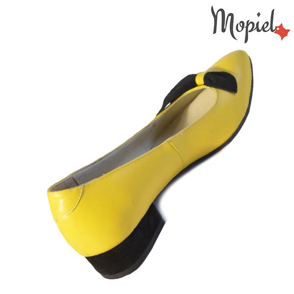 Pantofi dama, din piele naturala 202120 R23 Galben Lolita incaltaminte piele