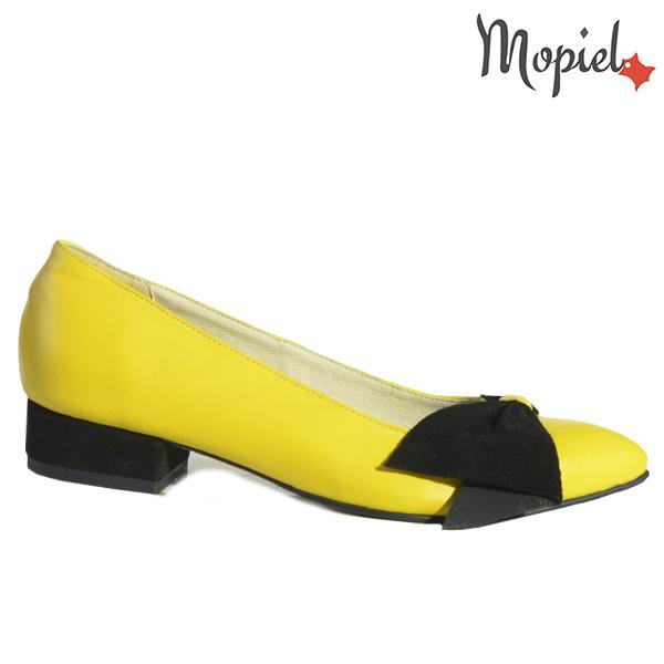 Pantofi dama, din piele naturala 202120 R23 Galben Lolita
