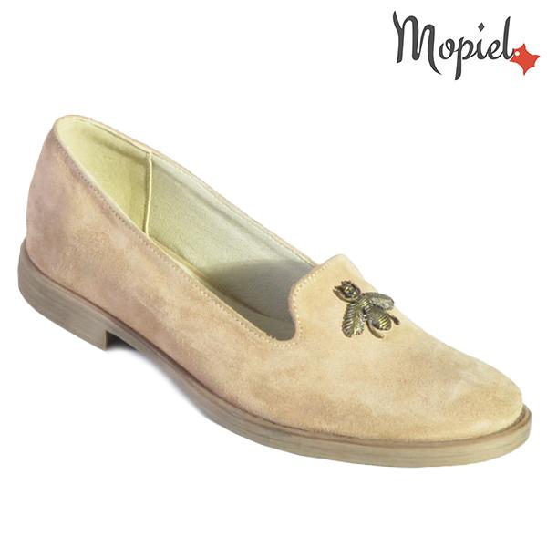 Pantofi dama, din piele naturala 202129 R23 Nude Tessa incaltaminte dama
