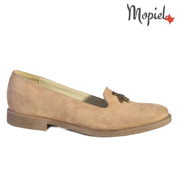 Pantofi dama, din piele naturala 202129 R23 Nude Tessa  - Pantofi dama din piele naturala 202129 R23 Nude Tessa - COLECTIE NOUA PANTOFI DAMA