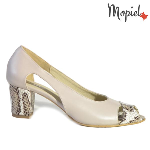 Pantofi dama din piele naturala 202140 R23 Bej Sophia
