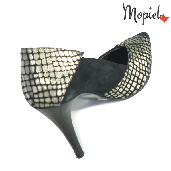 Pantofi dama din piele naturala 202141 R23 Negru Rini incaltaminte online