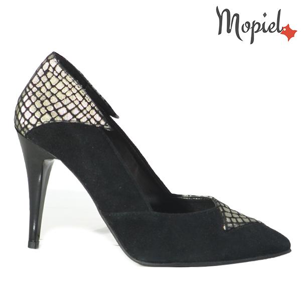 Pantofi dama din piele naturala 202141 R23 Negru Rini