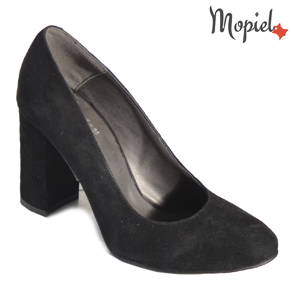 Pantofi dama din piele naturala 202141 R23 SP-Negru Dia incaltaminte dama
