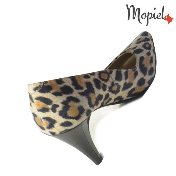 Pantofi dama din piele naturala 202142 R23 Leopard Simra incaltaminte piele