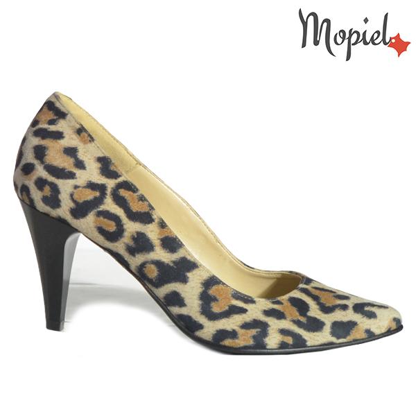 Pantofi dama din piele naturala 202142 R23 Leopard Simra