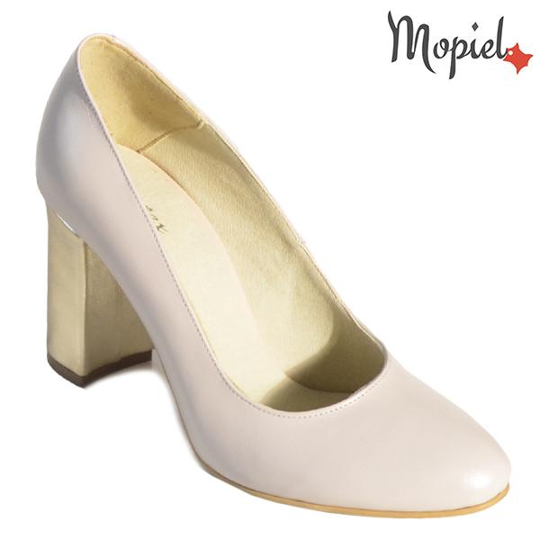 Pantofi dama din piele naturala 202144 R23 Bej Susie incaltaminte dama