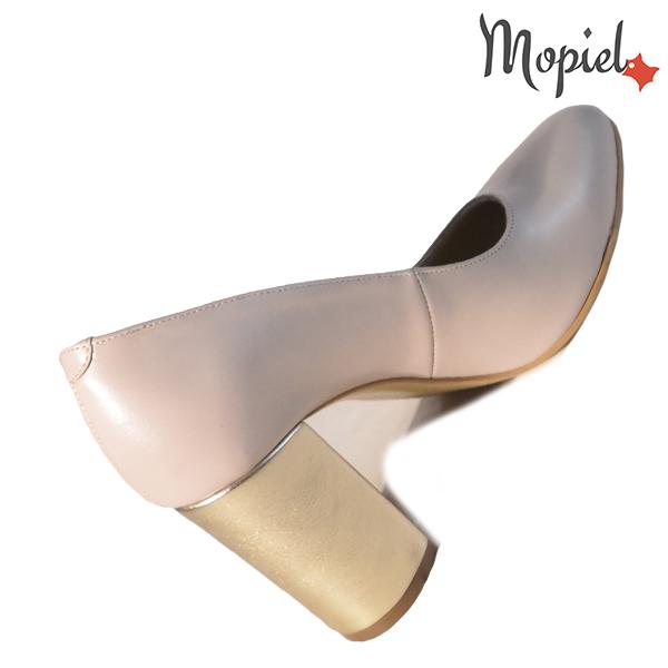 Pantofi dama din piele naturala 202144 R23 Bej Susie incaltaminte ieftina