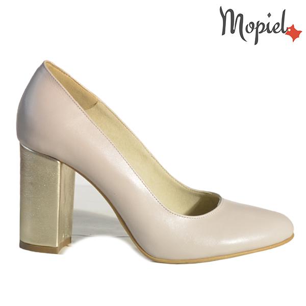 Pantofi dama din piele naturala 202144 R23 Bej Susie