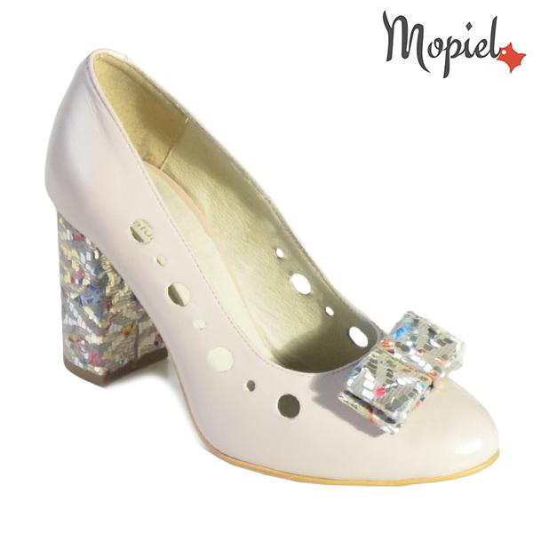 Pantofi dama din piele naturala 20216 R23 Bej Nicola incaltaminte dama