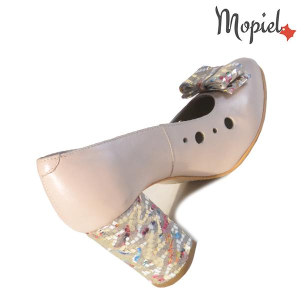 Pantofi dama din piele naturala 20216 R23 Bej Nicola incaltaminte piele