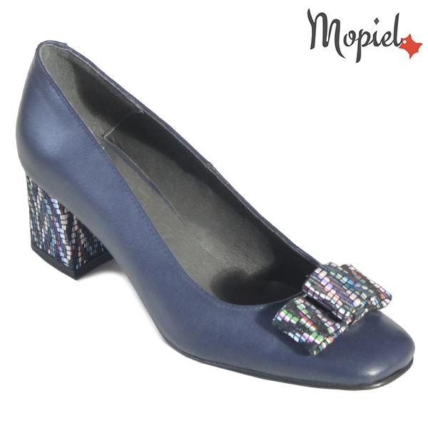 Pantofi dama din piele naturala 20217 R23 Blue Celia incaltaminte dama