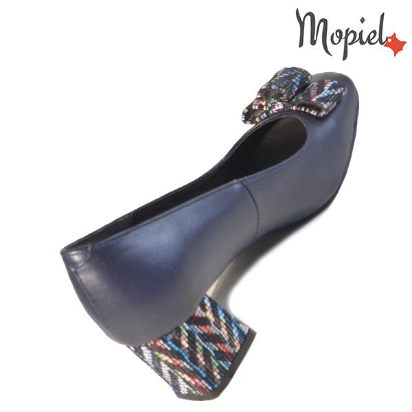 Pantofi dama din piele naturala 20217 R23 Blue Celia incaltaminte fashion