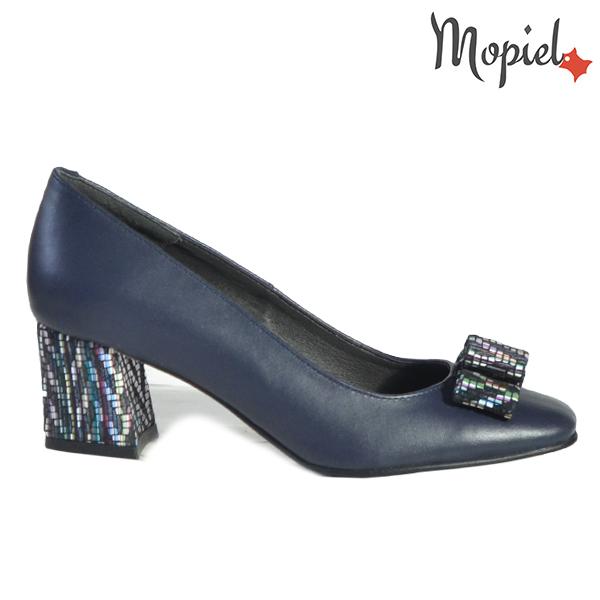 Pantofi dama din piele naturala 20217 R23 Blue Celia  - Pantofi dama din piele naturala 20217 R23 Blue Celia - Inspiratia ta pentru un eveniment reusit!