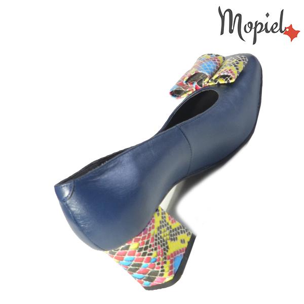 Pantofi dama din piele naturala 20218 R23 Blue Celia incaltaminte online
