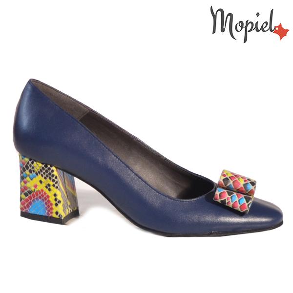 Pantofi dama din piele naturala 20218 R23 Blue Celia  - Pantofi dama din piele naturala 20218 R23 Blue Celia - Inspiratia ta pentru un eveniment reusit!