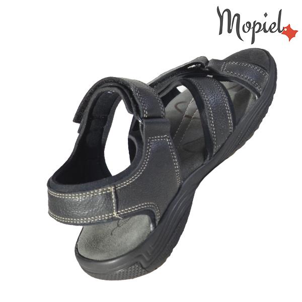Sandale barbati, din piele naturala 158601 Negru Deep sandale barbati