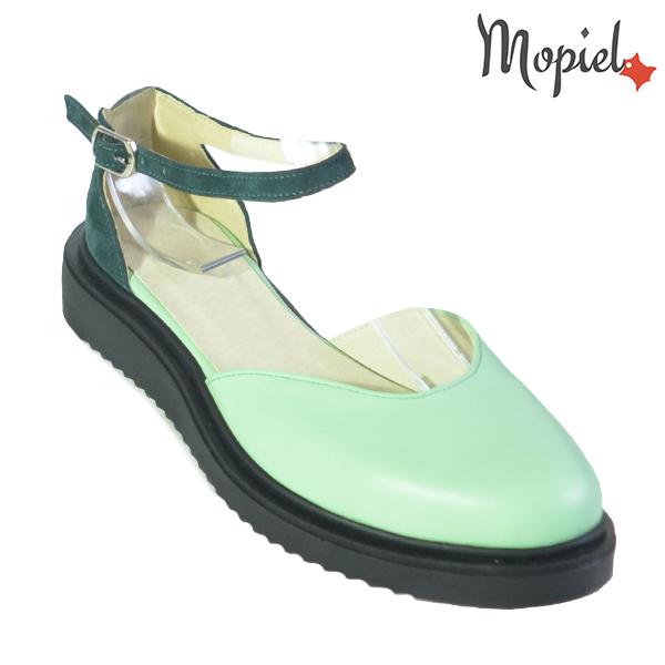 Sandale dama din piele naturala 20211 R23 Verde Noella incaltaminte dama
