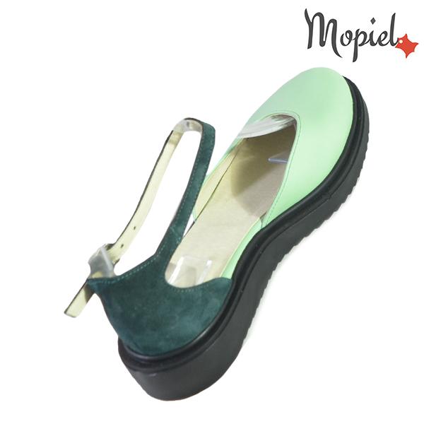 Sandale dama din piele naturala 20211 R23 Verde Noella incaltaminte online