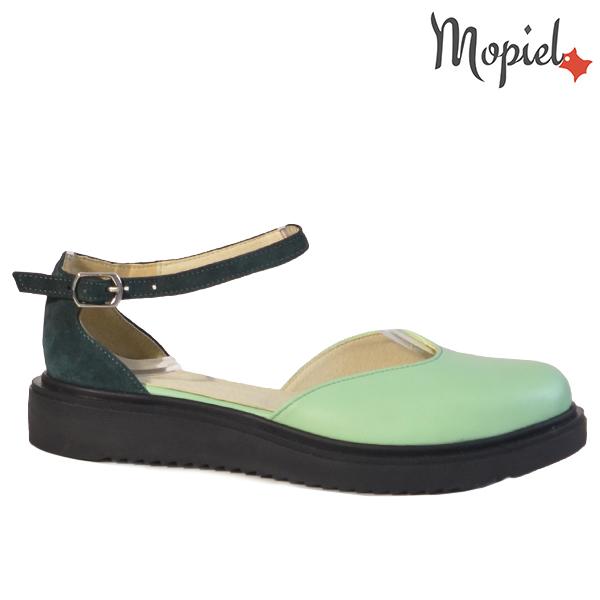 Sandale dama din piele naturala 20211 R23 Verde Noella