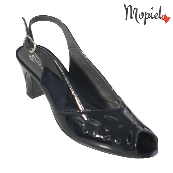 Sandale dama din piele naturala 202113 R23 Negru - Lac Felicia incaltaminte dama