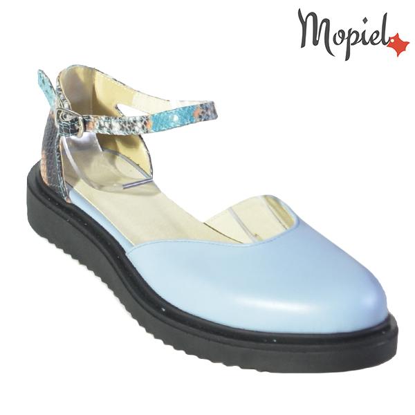 Sandale dama din piele naturala 202127 R23 Albastru Noella incaltaminte dama
