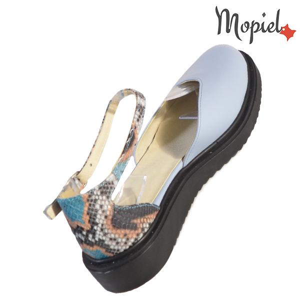 Sandale dama din piele naturala 202127 R23 Albastru Noella incaltaminte ieftina