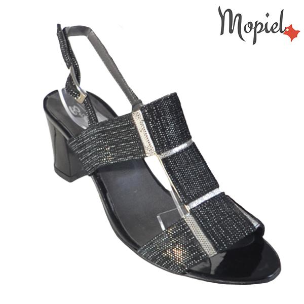 Sandale dama din piele naturala 202135 R23 Negru Monica incaltaminte dama