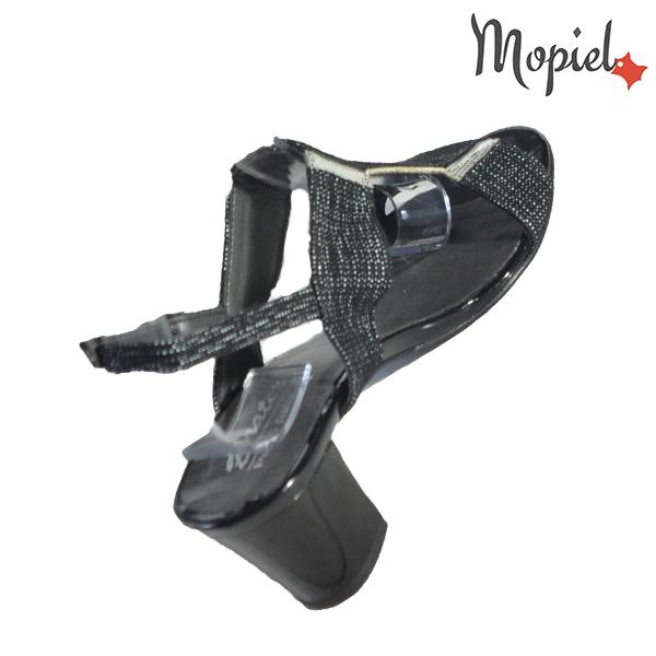 Sandale dama din piele naturala 202135 R23 Negru Monica incaltaminte ieftina