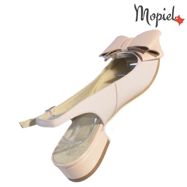 Sandale dama din piele naturala 20215 R23 Nude Otilia incaltaminte ieftina