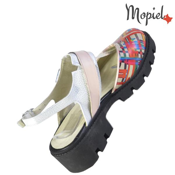 Sandale dama din piele naturala 20224 R23 Multicolor Neena incaltaminte online