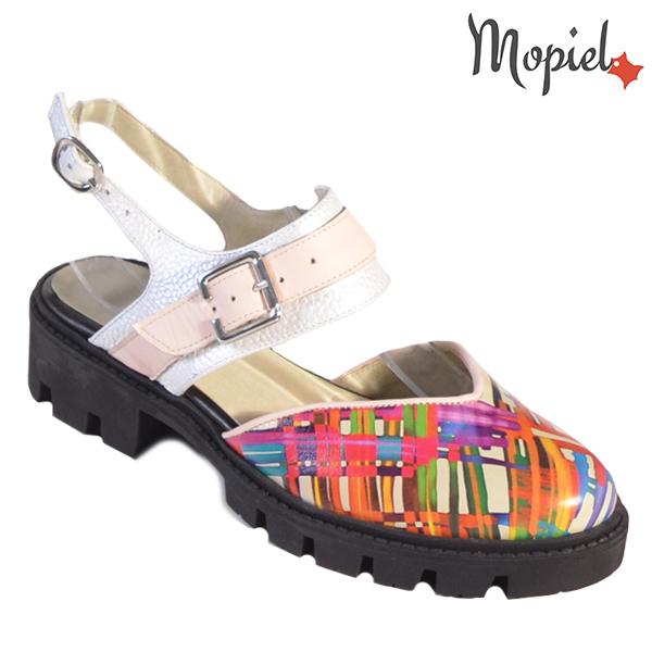 Sandale dama din piele naturala 20224 R23 Multicolor Neena reduceri incaltaminte