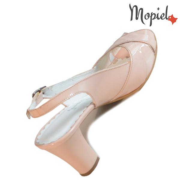 Sandale dama din piele naturala 24430 Nude Vinata incaltaminte online