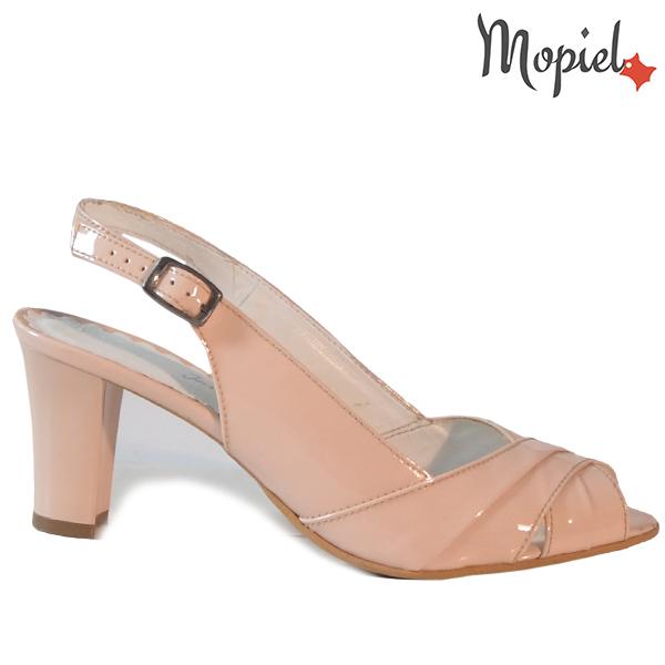 Sandale dama din piele naturala 24430 Nude Vinata