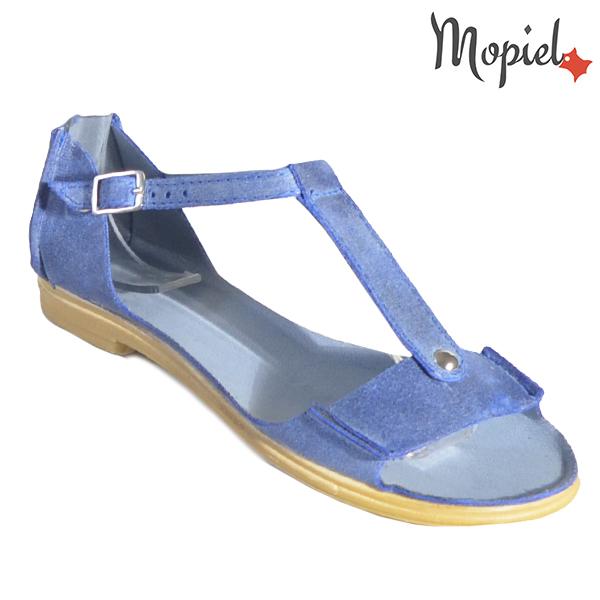 Sandale dama, din piele naturala 25206 Albastru Sinem incaltaminte dama