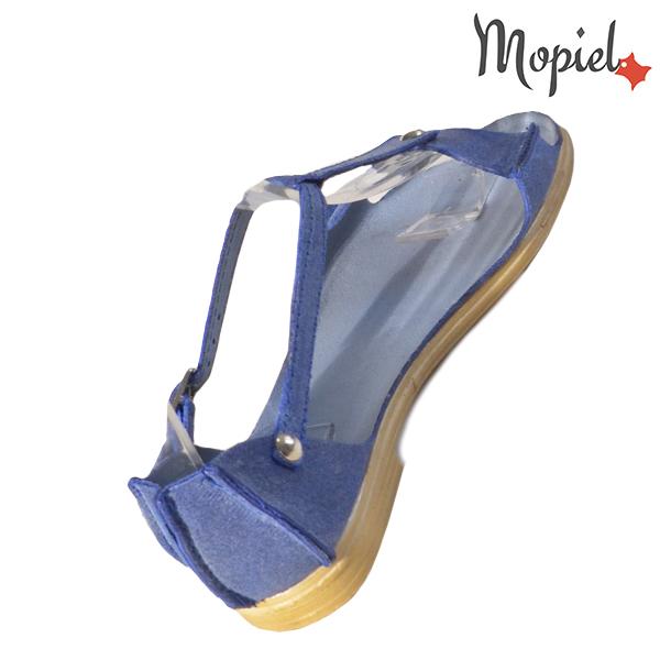 Sandale dama, din piele naturala 25206 Albastru Sinem incaltaminte ieftina