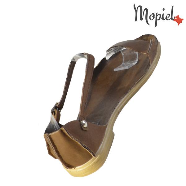 Sandale dama, din piele naturala 25206 Maro Sinem incaltaminte ieftina